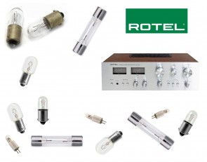 ROTEL RA-414 Receiver: replacement bulbs