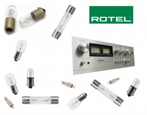ROTEL RA-712 Receiver: replacement bulbs