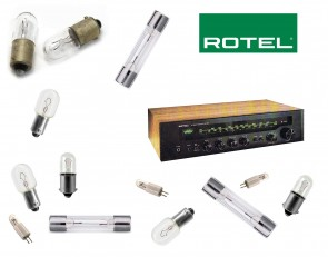 ROTEL RX-102 Receiver: replacement bulbs