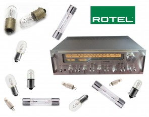 ROTEL RX-1203 Receiver: replacement bulbs
