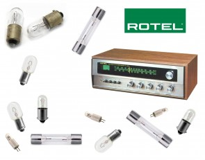 ROTEL RX-150A Receiver: replacement bulbs