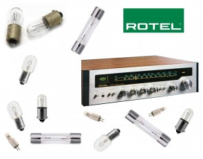ROTEL RX-152 Receiver: replacement bulbs