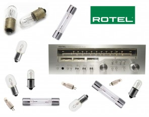 ROTEL RX-304 Receiver: replacement bulbs