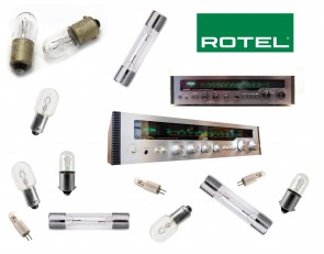 ROTEL RX-402 Receiver: replacement bulbs