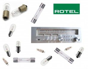ROTEL RX-404 Receiver: replacement bulbs