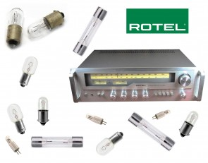 ROTEL RX-503 Receiver: replacement bulbs