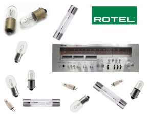 ROTEL RX-504 Receiver: replacement bulbs