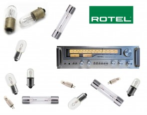 ROTEL RX-603 Receiver: replacement bulbs