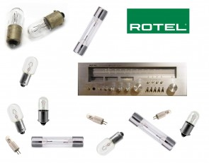 ROTEL RX-604 Receiver: replacement bulbs