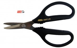 ARS ARSUPER SS-370 Professional Craft Scissors - Made in Japan - cut anything!