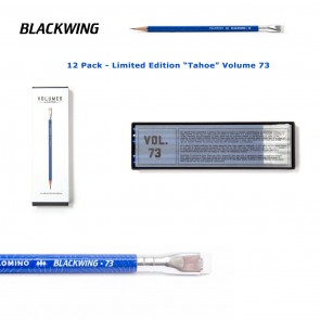 "Limited Edition Palomino Blackwing ""Tahoe"" Pencils - Volume 73 - (12 Pack) - Made in Japan"