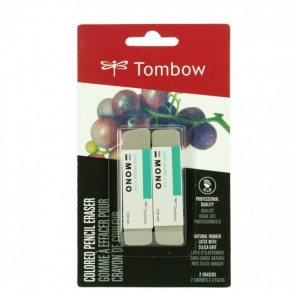 TOMBOW Colored Pencil Eraser 2PK