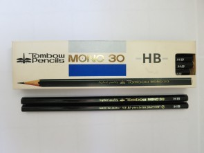 "VINTAGE TOMBOW MONO 30 ""High Precision Drafting"" Pencil - HB - Made in Japan"