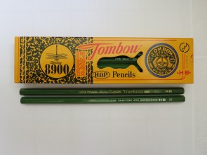 "VINTAGE TOMBOW 8900 ""For Drafting and Retouching"" Pencil - HB - Made in Japan"