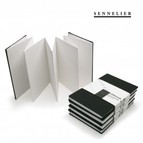 "Sennelier Urban sketch book - 6""x4"" black cover - 340gsm paper - MADE IN FRANCE"